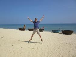 Neil on the beach