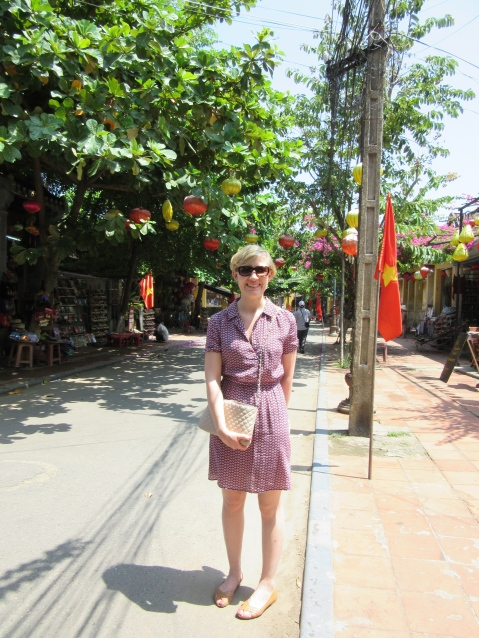 Trying to look cool in Hoi An