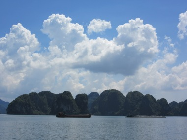Boats and islands Halong