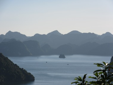 Halong in the morning mist