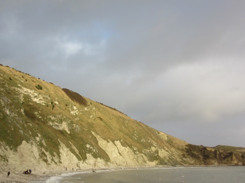 Lulworth Cove in winter