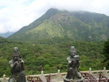 View from the The Big Buddah