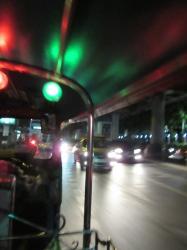 A Tuk Tuck Ride at night