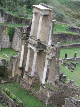 Roman ruins in Volterra