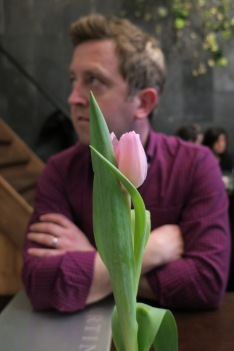 Neil and a Tulip
